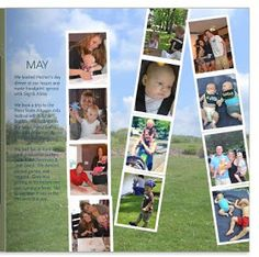 Team Studer: Creating a Family Yearbook: Tips from two Moms