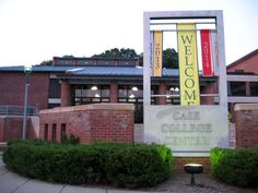 Case College Center at Skidmore College is the central hub for students!