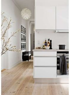 clean white lends to accent colors