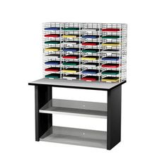 Charnstrom 32 Compartment Mailroom Organizer