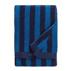 Nimikko Håndkle 75x150 cm, Blå/Mørkeblå, Marimekko