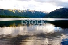 Lake Rotoiti, Nelson Lakes National Park, NZ Royalty Free Stock Photo Images Of Peace, Image Now, Nature Photos, Lakes, Wilderness, Serenity, Reflection, Zen, National Parks
