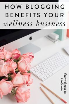 How Blogging Benefits Your Wellness Business | Blog Marketing - Ready to learn all about the key business benefits of blogging—how it boosts SEO, grows your health coaching audience and builds rapport? Click to learn how to start a helpful wellness blog on your own website. | Blogging Tips | Marketing Strategy | Wellness Business | Health Coach | Small Business Tips | Four Wellness Co. #blogging #blog #marketing #onlinebusiness #seo #squarespace #healthcoach #wellnessbusiness #entrepreneur Facebook Support, Dream Career, Content Marketing Strategy, Online Coaching, Business Inspiration, Blogging For Beginners, Health Coach, Business Tips, Seo