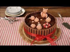 """Die """"Schweinchen im Matschkübel""""-Torte - Leckere Schweinerei - Einfach lecker #chefkoch - YouTube"""