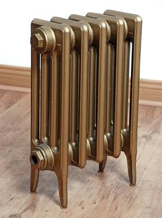 SMALL Victorian 4 Column - Cast Iron Radiator - Victorian Solid Cast Iron Radiator