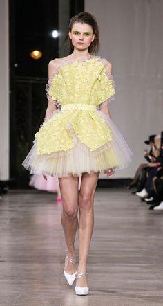 Georges Chakra, Cute Dresses, Beautiful Dresses, Casual Dresses, Short Dresses, Fashion Dresses, Fashion Week, Runway Fashion, Fashion Show