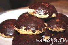 Печенье из пудинга с вареной сгущенкой