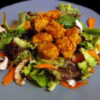 Cook Fiction   Pizza Stack's Buffalo Chicken Salad Meal   Inspired by: Grand Theft Auto