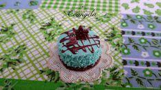 Mini torta orsetto biscotto 20 mm. ciondolo pendente fimo dolci materiale bigiotteria , by Evangela Fairy Jewelry, 1,80 € su misshobby.com