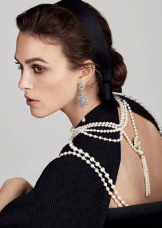 Keira Knightley in Chanel commercials
