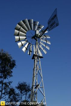 Logan windmill #CaptureTheCover entry - by Erika in Brisbane's Logan City, Beenleigh Region. Click to enter your photos!