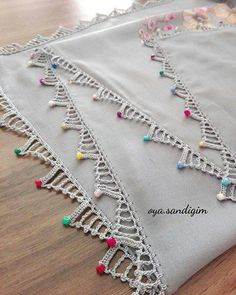 Most Beautiful Crochet Lace, # # needlepointsamples - Crochet Borders, Filet Crochet, Crochet Stitches, Crochet Flowers, Crochet Lace, Crochet Keychain, Crochet Patterns Amigurumi, Crochet For Beginners, Beautiful Crochet