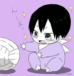 Baby Kageyama Tobio | Haikyuu!!