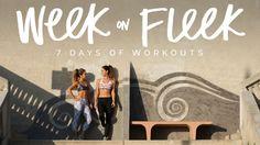 tone it up workout week