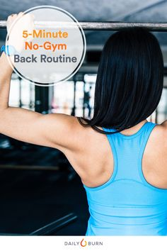 5-Minute No-Equipment Back Workout
