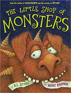 Buy The Little Shop Of Monsters by Marc Brown at Mighty Ape NZ. A frighteningly fun picture book adventure from two monstrously talented children's book icons! Are you are afraid of monsters? Pet Monsters, Monster Book Of Monsters, Monster S, Little Monsters, 2nd Grade Books, Tales For Children, Children's Choice, Creepy Monster, Book Creator