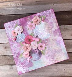 Caja rosa brilli