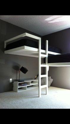 Futuristic bunk beds