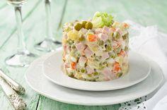 Salát s avokádovou majonézou