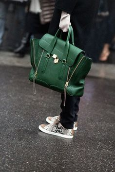 my Phillip Lim Pashli bag purchased at the label's L.A. store