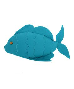 Another great find on #zulily! Fish Pillow #zulilyfinds
