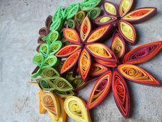 basteln mit papier als DIY wanddekoration und kreative wandgestaltung mit Papierblumen