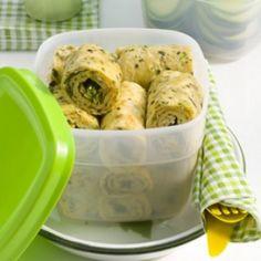 Recept voor mediterrane kruidenomeletjes