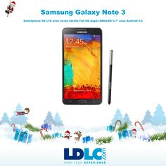 Grand jeu de Noël LDLC ! Vous avez voté pour : Samsung Galaxy Note 3 http://www.ldlc.com/fiche/PB00154172.html  Vous aimeriez gagner ce produit ? RDV le 27/11 pour vous inscrire à notre grand jeu de Noël !