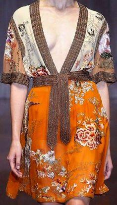 Tendencias P/V 2105 Kimonos: fotos de los modelos - Vetsido kimono Gucci