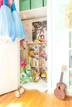 toddler closet organization