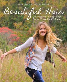 Beautiful Hair Giveaway | Bulk Herb Store Blog | Come win our Beautiful Hair products in this weeks giveaway!