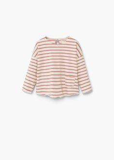 T-shirt coton poche -  Enfants   MANGO Kids France