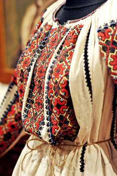 Folk Costume, Costumes, Folk Clothing, Cat Room, Cool Countries, Traditional Outfits, Romania, Hand Embroidery, Anthropologie