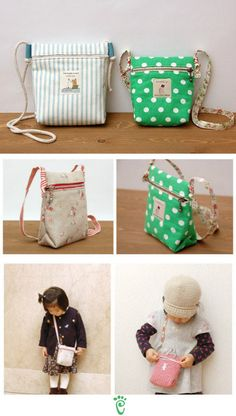 darling little zipper bags