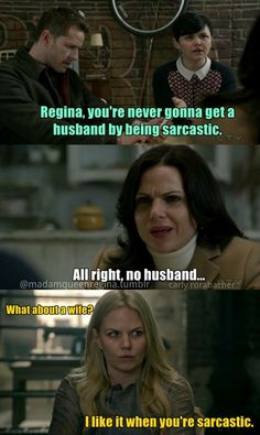 Awesome Regina Emma Snow Charming in an awesome S3 episode of Once