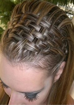 How To Do The Basketweave Braid! It's So Beautiful!! #Beauty #Trusper #Tip