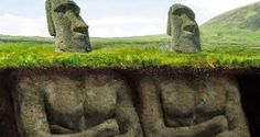 Scientists Have Uncovered A Shocking Secret Underneath The Easter Island Heads. Unbelievable! - The Mirror Post