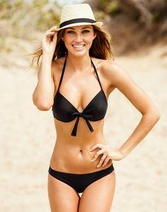 Black bikini #summer