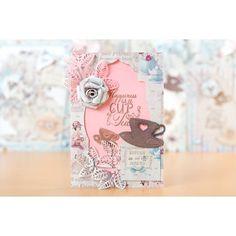 FabScraps For The Love of Tea Mini Card Kit No Colour