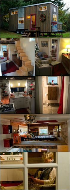 Empty Nester Builds Her Dream Tiny House {Tiny Home Tour} - When Michelle Jonice considered the life she wanted to live after her youngest child left the nest, she knew she wanted a simpler life and that she wanted to get there without taking on debt.