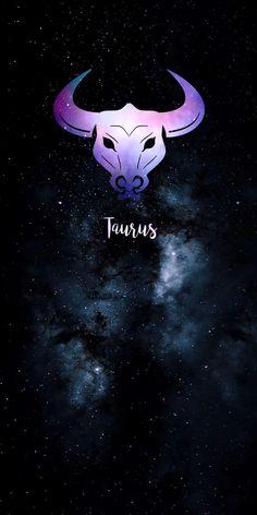 Taurus Symbol Tattoo, Taurus Symbols, Symbol Tattoos, Taurus Wallpaper, Iphone Wallpaper, Baby Pugs, Zodiac Art, Birth Chart, Modern Wallpaper