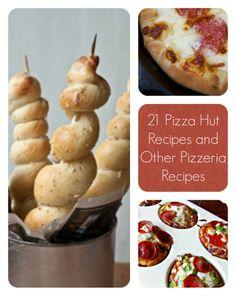 21 Pizza Hut Recipes and Other Pizzeria Recipes | AllFreeCopycatRecipes.com