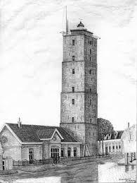 De oudste Nederlandse vuurtoren is de Brandaris op Terschelling. In 1323 werd hij voor het eerst gebouwd. Deze toren trotseerde 2 eeuwen lang alle weer en wind.Op het einde van de 16e eeuw werd een nieuwe toren gebouwd, die echter in het jaar van zijn bouw in elkaar zakte.In 1594 bouwde men een derde toren die er, dank zij restauraties, nog steeds staat.Hij is 55,5m hoog en heeft een radar Hij heeft een lichtsterkte van 3.500.000 cd. Lichtkarakter:schitterlicht om de 5 seconden. Water Tower, My Happy Place, Willis Tower, Windmill, Lighthouse, Netherlands, Holland, Dutch, Sailing