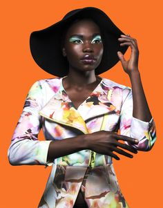 AphroChic: This Fashion Editorial Is Packed With Color Inspiration. Model, Monica Adeng