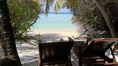 Bungalow med strandläge på Maldiverna