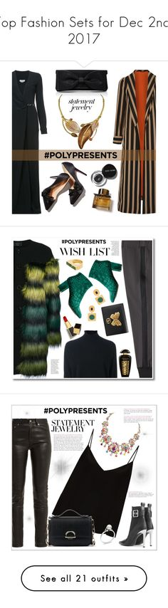 """Top Fashion Sets for Dec 2nd, 2017"" by polyvore ❤ liked on Polyvore featuring Gabriela Hearst, Etro, Oscar de la Renta, Bobbi Brown Cosmetics, Burberry, contestentry, polyPresents, 3.1 Phillip Lim, KI6? Who Are You? and Le Kasha"