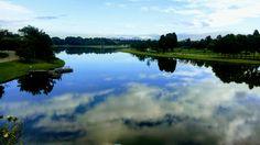 Lago del parque Simon Bolivar