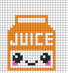 Pixel Art Kawaii Fruit Gamboahinestrosa
