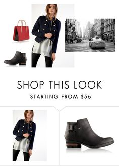 """Untitled #2419"" by joanna-111 ❤ liked on Polyvore featuring Glamorous, SOREL and Christian Louboutin"
