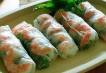 Vietnamese Fresh Spring Rolls Recipe and Video Vietnamese Recipes, Asian Recipes, Ethnic Recipes, Vietnamese Rolls, Vietnamese Food, Vietnamese Fresh Spring Rolls, Healthy Spring Rolls, Summer Rolls, Summer Wraps